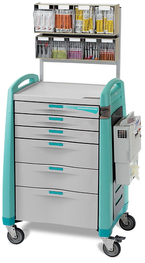 Avalo Trolleys Anaesthesia Cart