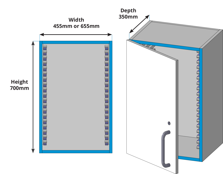 HTM71 Wall Unit Drawings