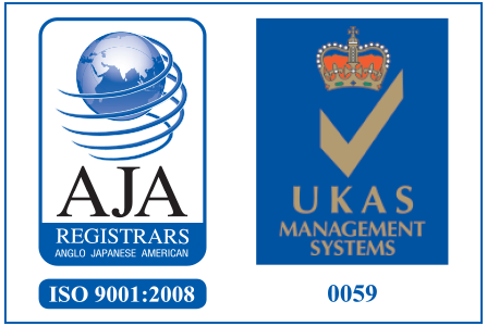 AJA ISO 9001:2008 Logo